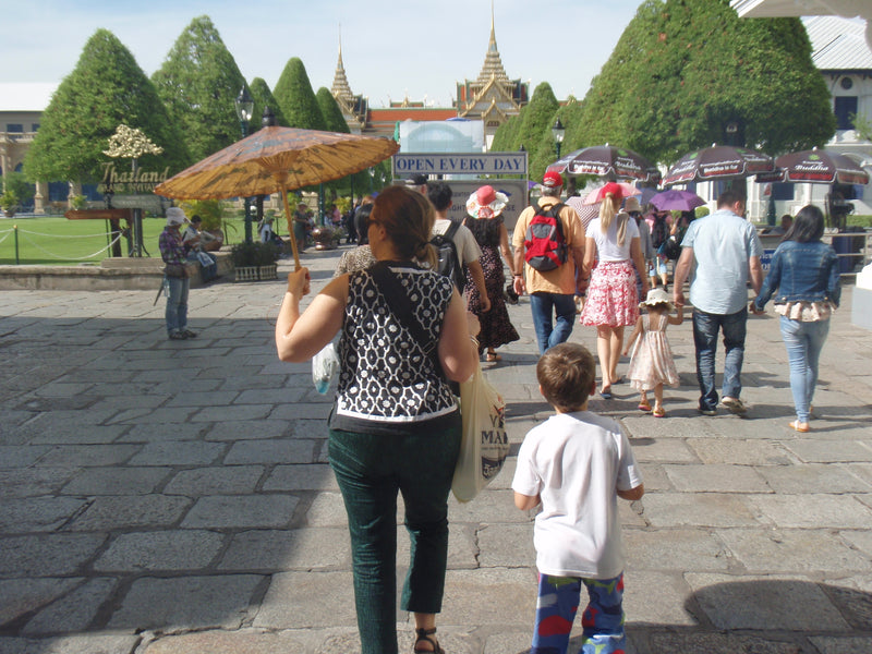 Travelling with kids- Our 10 Rules of travelling with offspring!