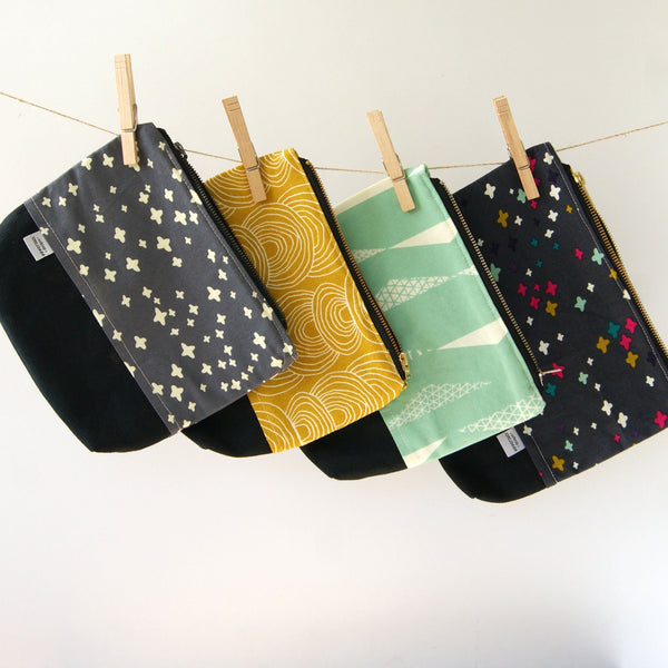 New Ethical Clutches - Reuse, Repurpose, Recycled!