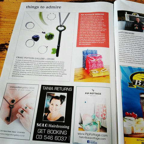 Admire magazine celebrates local handmade businesses