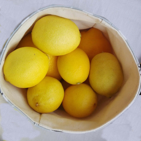 Food storage - happy buckets and lemons