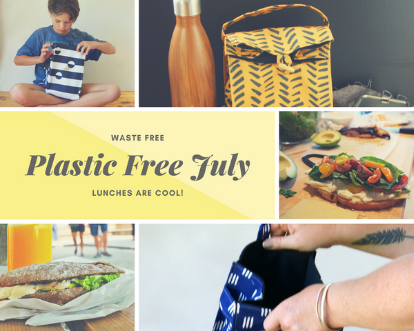 Plastic Free July and waste free lunches