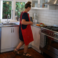 Organic Dress Aprons - green