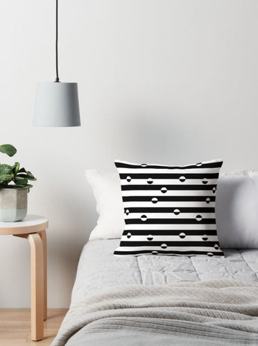 Stripes and dots Cushion