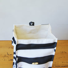 Washable Lunch Bags - Monochrome Stripes and Dots