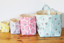 Happy Buckets are made from Eco Canvas, they are eco friendly fabric storage baskets.  Perfect Ethical Home wares and Eco friendly Home decor.