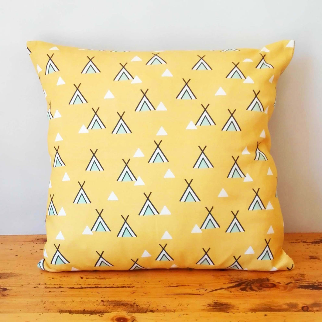 Organic Cotton Tipi Cushion Cover
