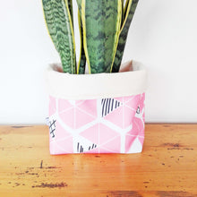 Ethical Storage Baskets - Pink