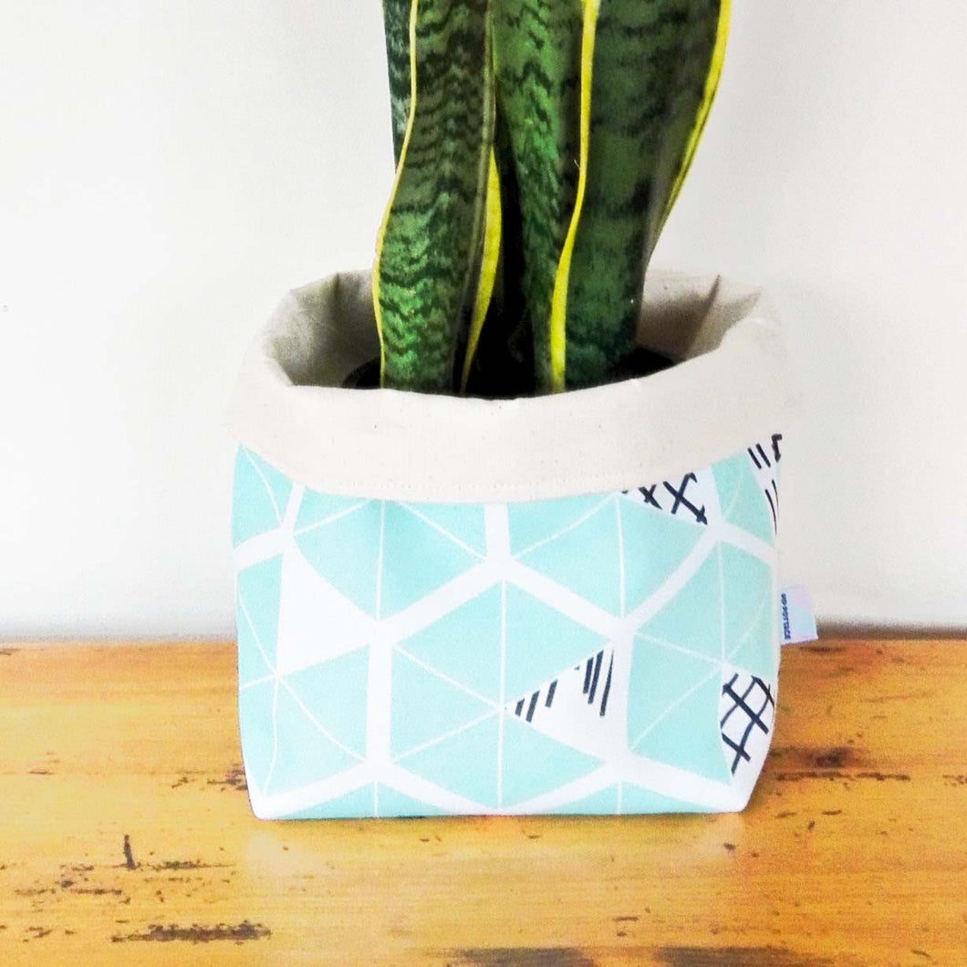 Ethical Storage Baskets - Mint