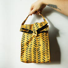 Washable Lunch Bag | Eco Canvas - Mustard