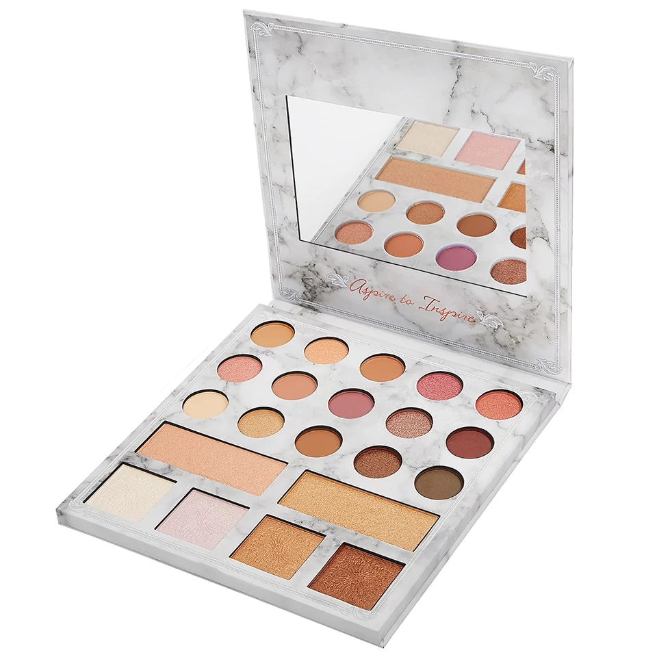 BH Cosmetics Carli Bybel Deluxe Edition - 21 Color Eyeshadow & Highlighter Palette