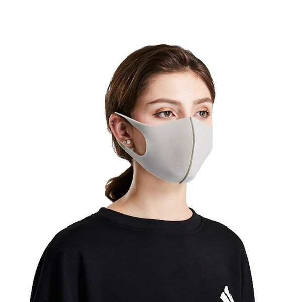 Adult Face Mask - Light Gray