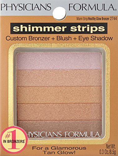 Physicians Formula Shimmer Strips Custom Bronzer, Blush & Eye Shadow