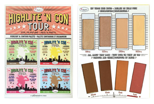 The Balm Highlite 'N Con Tour™ Highlight & Contour Palette