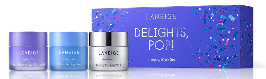 Laneige Delights, Pop! Mini Sleeping Mask Set