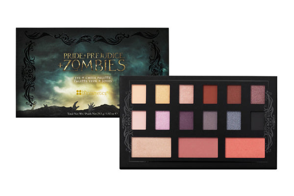 BH Cosmetics Pride + Prejudice + Zombies™ - Eye + Cheek Palette