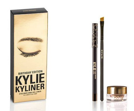 Kylie Cosmetics Kyliner Kit - Dark Bronze (Birthday Collection)