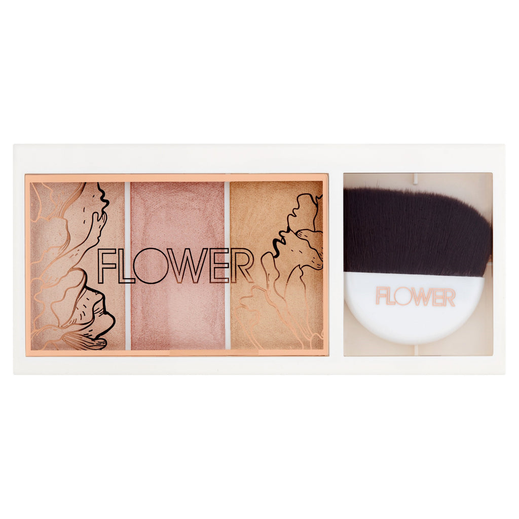 Flower Beauty Shimmer & Strobe Highlighting Palette