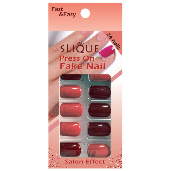 Slique Press On Nails - Short Square