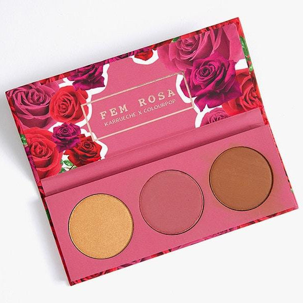 Colourpop Fem Rosa Her Face Palette