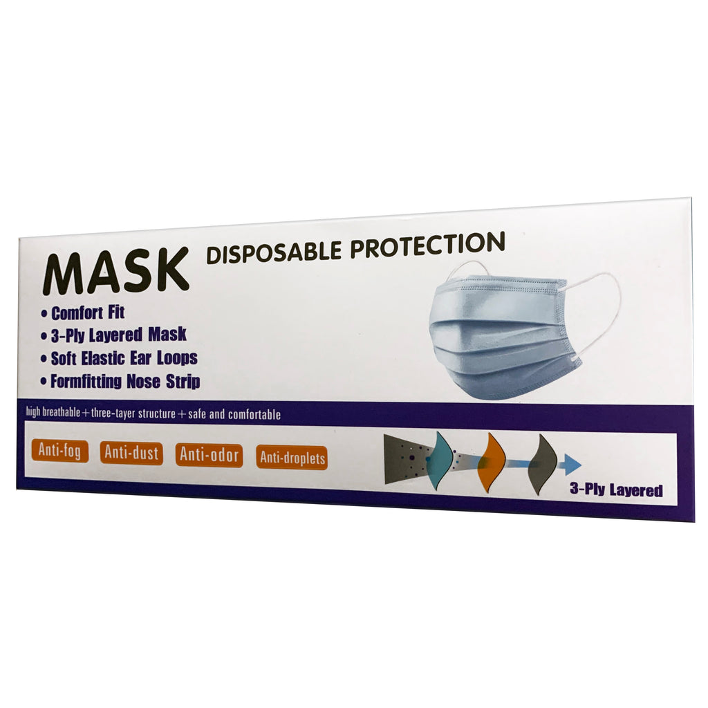 Disposable Face Mask 50pcs Per Box