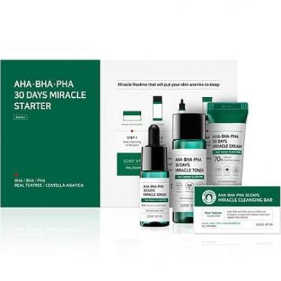 SOME BY MI AHA * BHA * PHA 30 Days Miracle Starter Kit