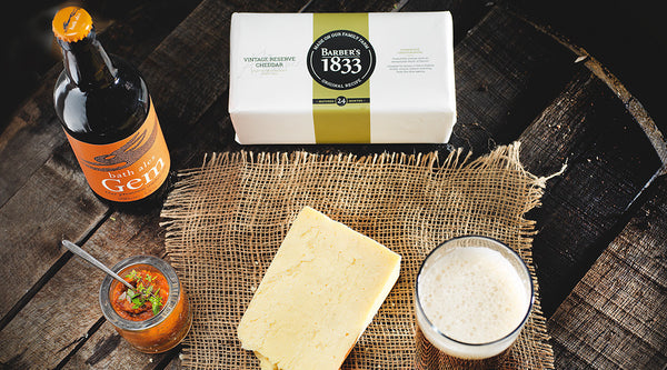 Try a Beer with Barber's 1833