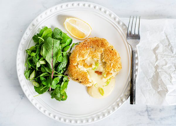 Melt in the middle cheddar fishcakes