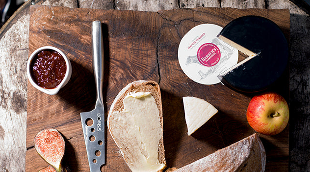 FIND OUT ABOUT OUR BARBER'S FARMHOUSE CHEESES AND BUTTER