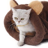Moushart Deals cat bed Soft and Warm Cat Bed
