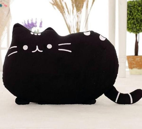 Moushart Deals cat cushion Black Pusheen Cat Cushions