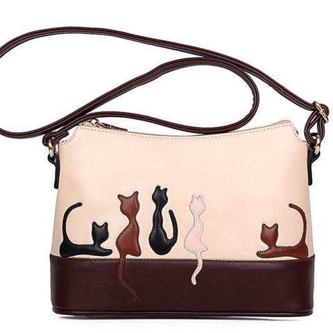 Moushart Deals Cat Purse 01 Cat Stylish Crossbody Purse - Limited Edition