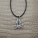 Moushart Deals necklace Gemini / Silver Vintage Silver Zodiac Signs Pendant 17""