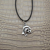 Moushart Deals necklace Pisces / Silver Vintage Silver Zodiac Signs Pendant 17""
