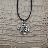 Moushart Deals necklace Scorpio / Silver Vintage Silver Zodiac Signs Pendant 17""