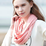 Moushart Deals scarf Pocket Loop Scarf All-Match Fashion