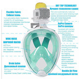 Moushart Deals Snorkel Mask Snorkel Diving Mask with Anti-skid Ring