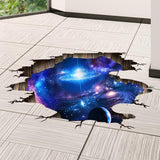 Moushart Deals wall sticker Outer Space Planets 3D Wall Stickers