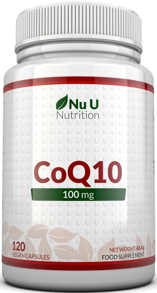 CoQ10 100mg, 120 Co-Enzyme Q10 Vegetarian Capsules