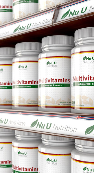 Multivitamins & Mineral All in One Formula - 365 Tablets