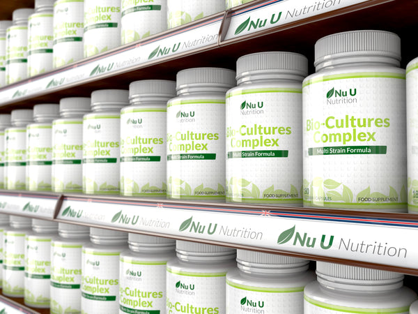 Bio-Cultures Complex (Probiotic Strains), 180 Vegetarian Capsules, 10 Billions CFUs Source Powder