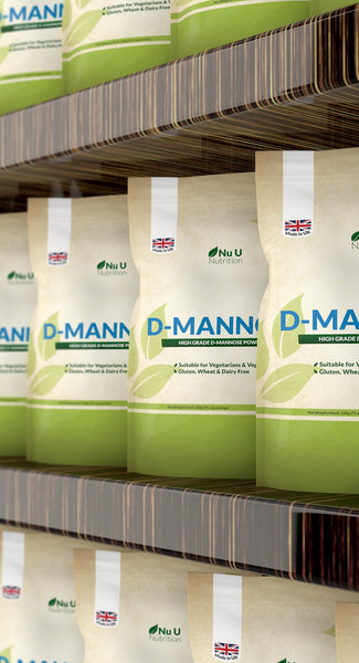 D-Mannose Powder 150g, Vegetarian and Vegan, 75 Servings