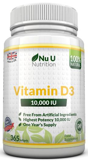 Vitamin D3 - Sunshine in a Bottle