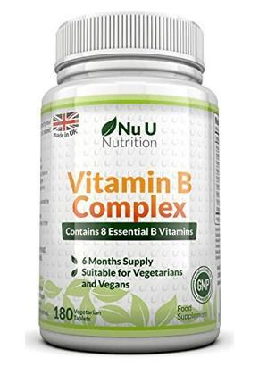 Eight B Vitamins in one tablet!