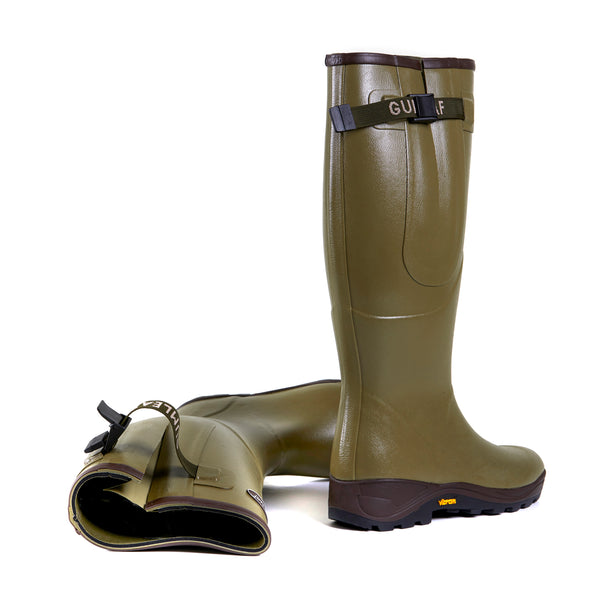 Invicta Side-Vent Wellington Boot