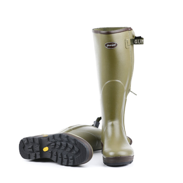 Royal Zip Wellington Boot