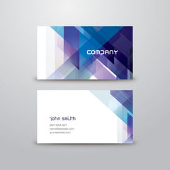Abstract business card template - Impresiku.com