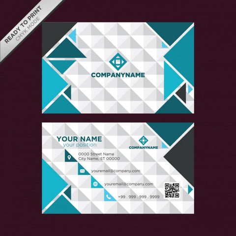 Business card template design 1