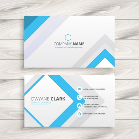 Business card with minimal design - Impresiku.com