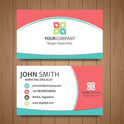 Cute business card