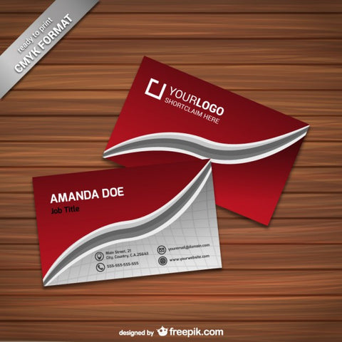 Elegant business card template 1 - Impresiku.com